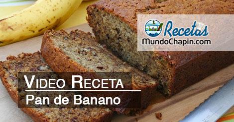 Pan de Banano - mundochapin