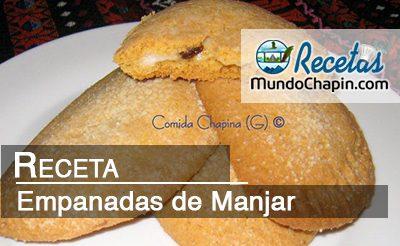 Empanadas de Manjar - mundochapin