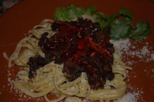 pasta alfredo al cilantro 3 mundochapin 300x199 - Recipe - Pasta Alfredo with Coriander Sauce