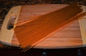 spaguetty al pepian 1 mundochapin 300x198 - Spaguetti with Pepian Sauce