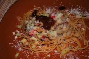 spaguetty al pepian 15 mundochapin 300x199 - Spaguetti with Pepian Sauce