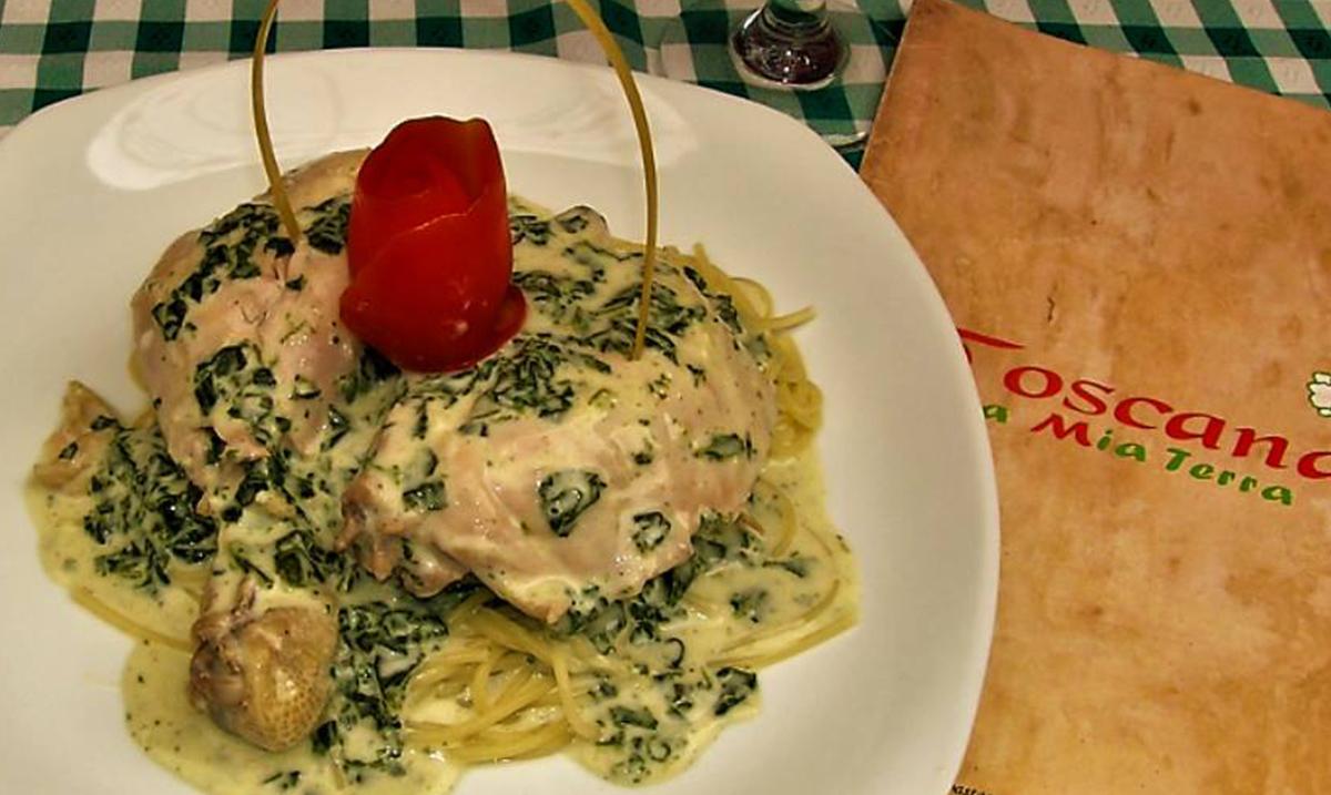 receta pollo a la florentina guatemala toscana mundochapin - Pollo a la Florentina por restaurante La Toscana
