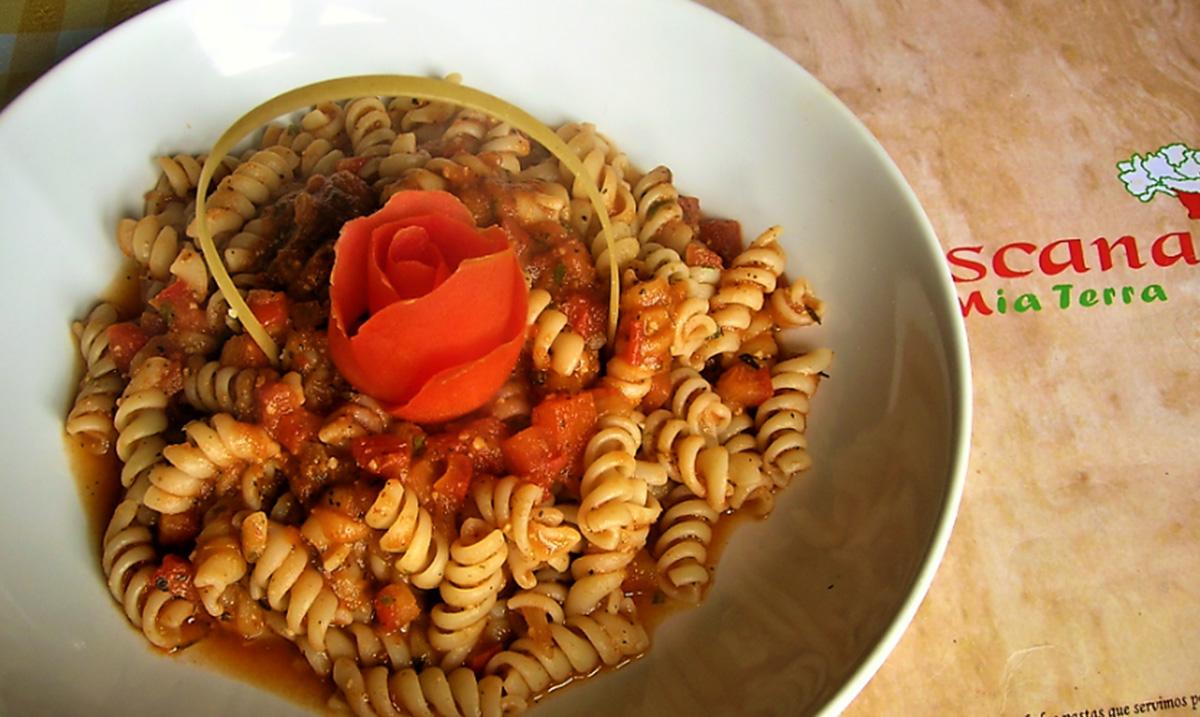 receta fusilli pomodoro guatemala mundochapin - Fusilli pomodoro por restaurante La Toscana