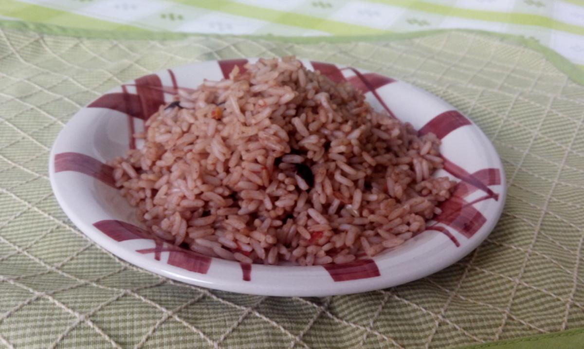 receta arroz con frijoles guatemala mundochapin - Arroz con Caldo de Frijol
