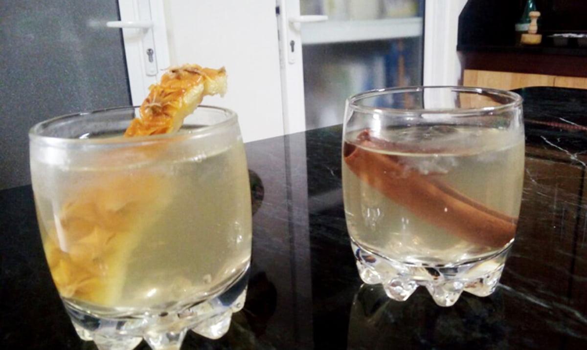 receta refresco de cascara de pincc83a guatemala mundochapin - Refresco de Cascara de Piña