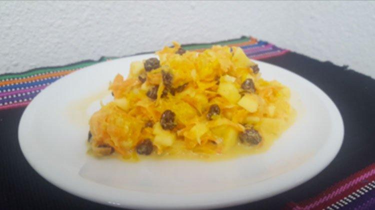 ensalada de fruta y zanahoria - Ensalada de Fruta y Zanahoria