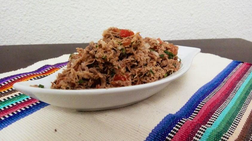 receta salpicon de carne mundochapin - Salpicón de Carne