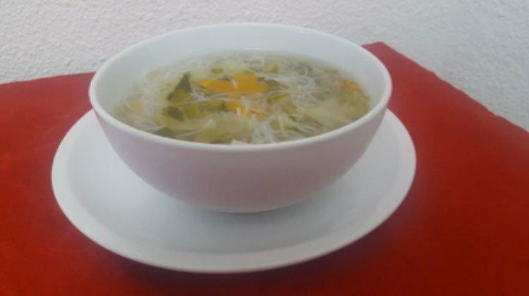 receta sopa de verduras - Sopa de Verduras