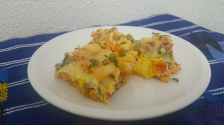 tortilla de verdura - Tortilla de Verdura